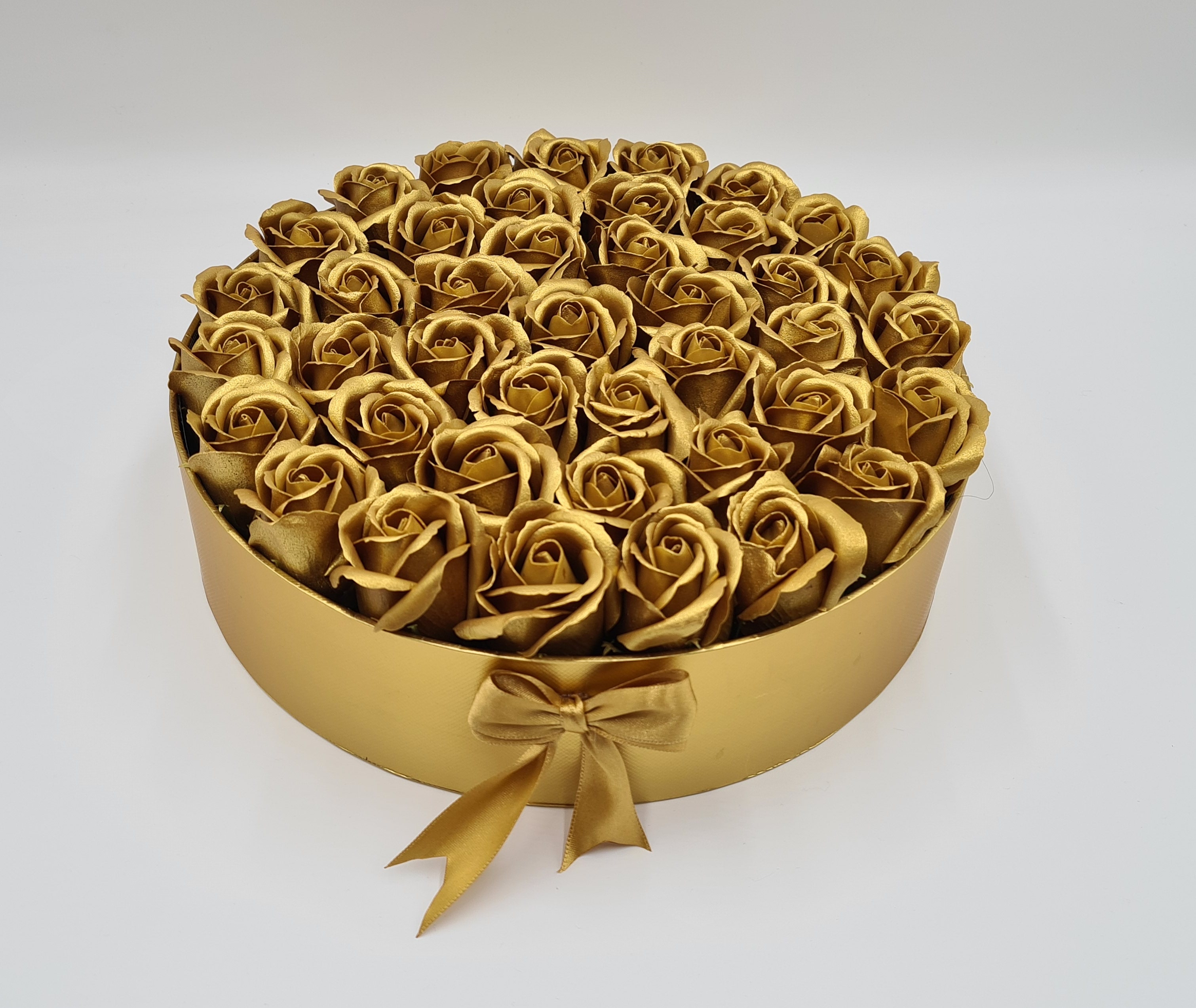Flower Box - Gold