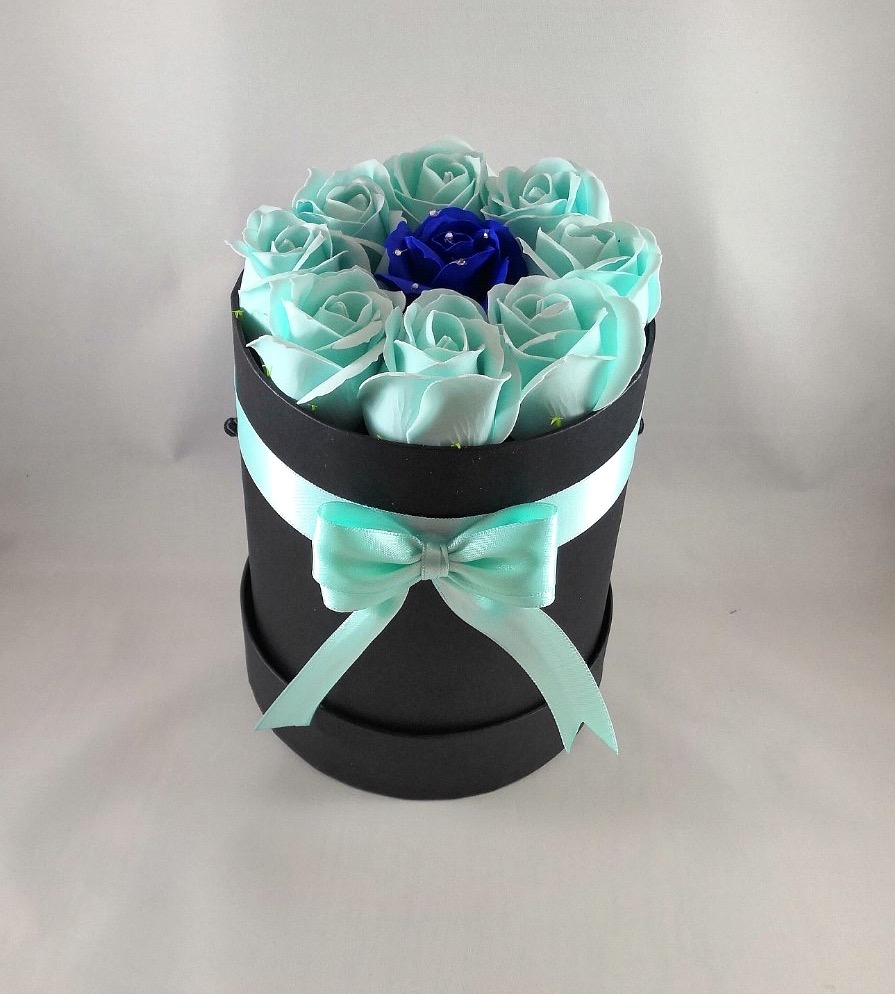 Flower Box - Light Blue Rose